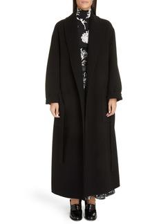 Loewe Tie Belt Wool & Cashmere Coat