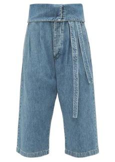 Loewe Turnover top cropped jeans