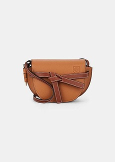 LOEWE Women's Gate Mini Leather Shoulder Bag - Light Caramel, Pecan color