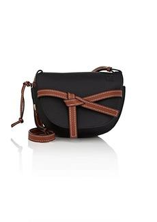 LOEWE Women's Gate Small Leather Shoulder Bag - Black