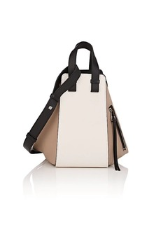 LOEWE Women's Hammock Small Leather Bag - White