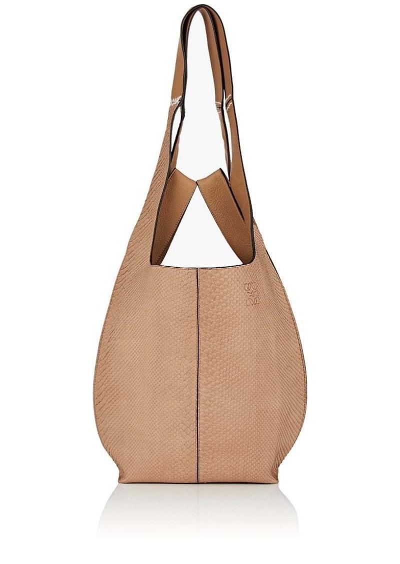 23b62c0f93c120 Loewe LOEWE Women's Hobo Python & Leather Tote Bag | Handbags