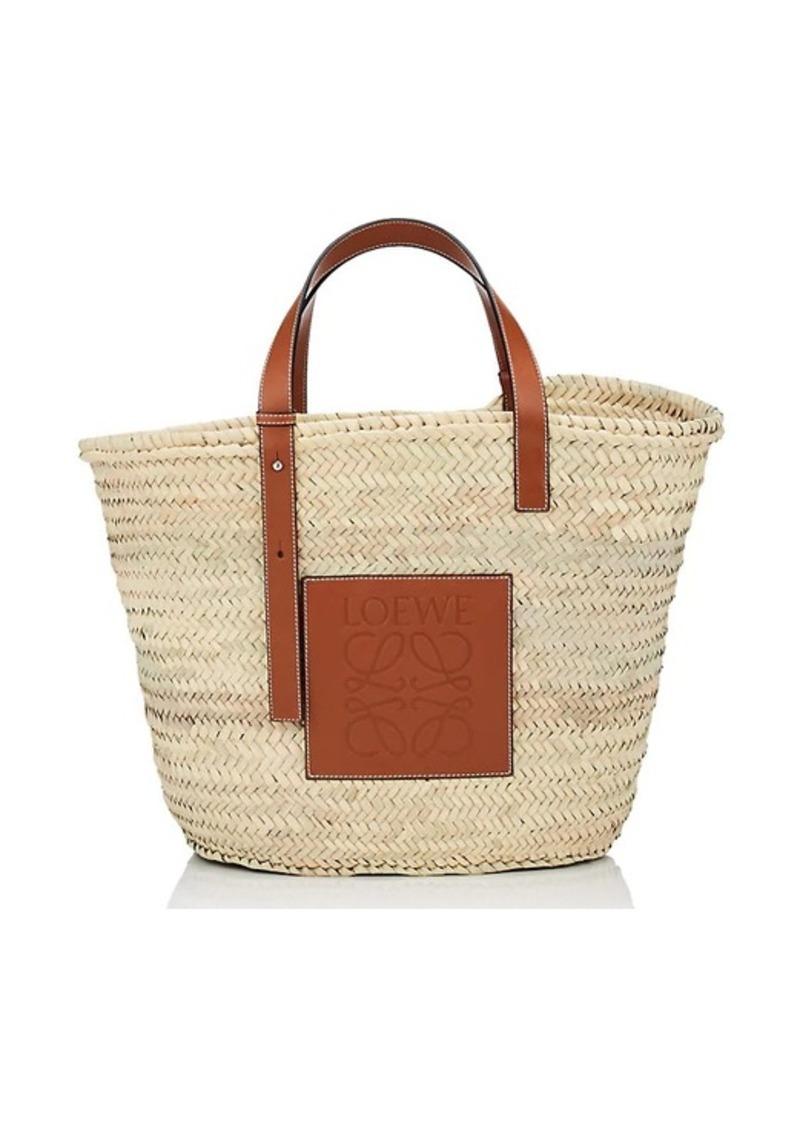b205e542ffb Loewe LOEWE Women's Large Raffia Basket Bag   Handbags