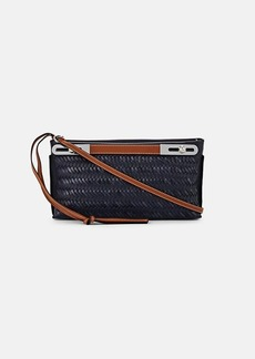 LOEWE Women's Missy Small Woven Leather Bag - Midnight Blue
