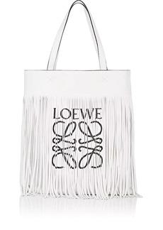 LOEWE Women's Paula Fringed Leather Vertical Tote Bag