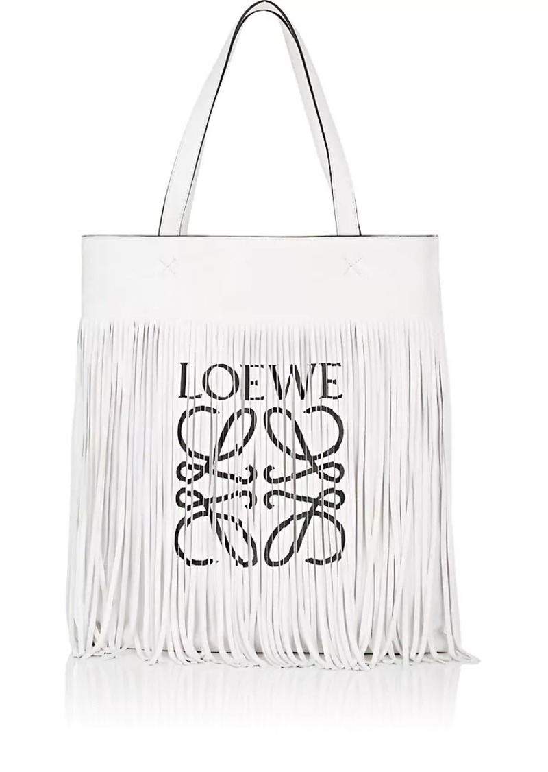Loewe LOEWE Women s Paula Fringed Leather Vertical Tote Bag  e4b1d1459