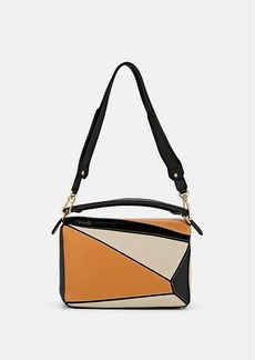 LOEWE Women's Puzzle Medium Leather Shoulder Bag - Lt Oat