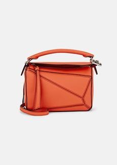 LOEWE Women's Puzzle Mini Leather Shoulder Bag - Bright Peach