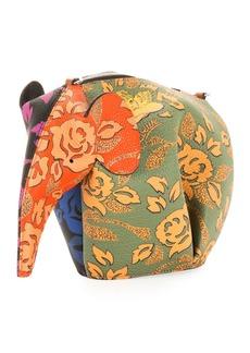 Loewe x Paula's Ibiza Elephant Mini Bag