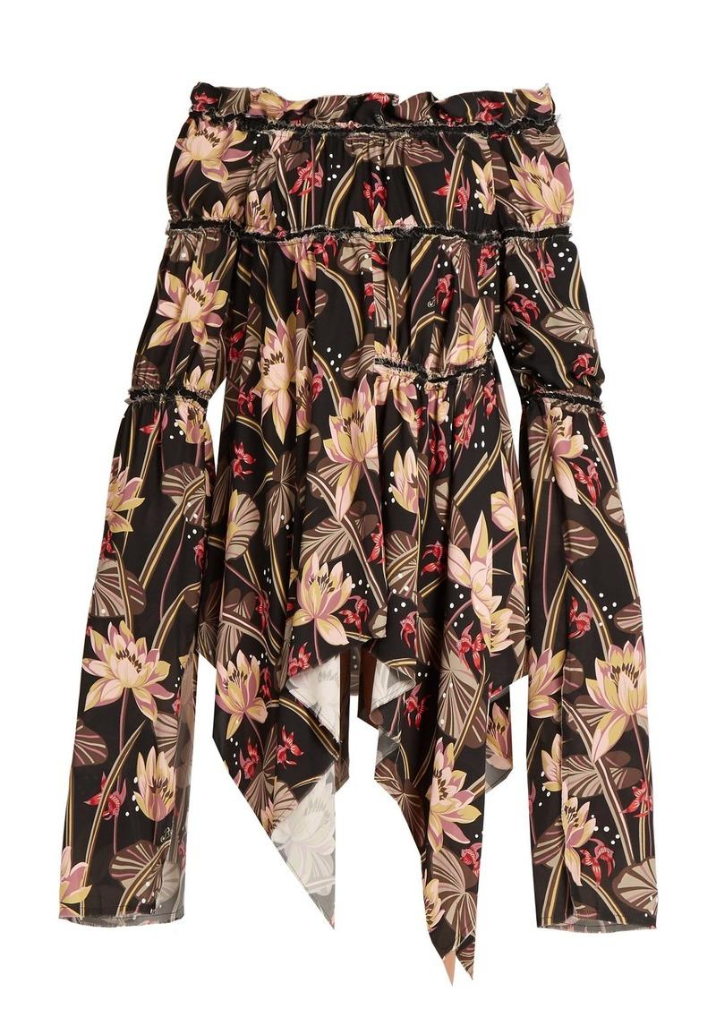 SALE! Loewe Loewe X Paula s Ibiza floral-print crepe dress b9f255b8a