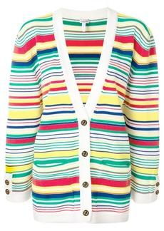 Loewe multi-stripe oversized cardigan