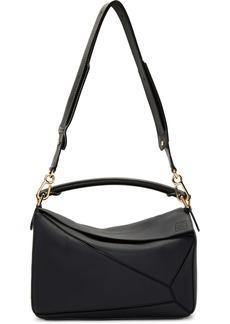 Loewe Navy & Black Puzzle Bag