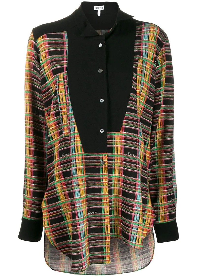 Loewe off-centre buttoned blouse