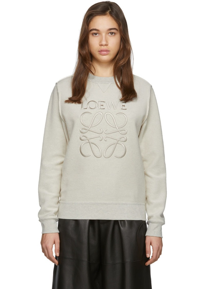 Loewe Off-White Anagram Sweatshirt