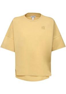 Loewe Oversize Cotton Jersey T-shirt