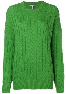 Loewe oversized knit jumper