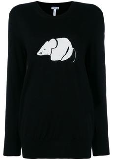 Loewe oversized mouse sweater