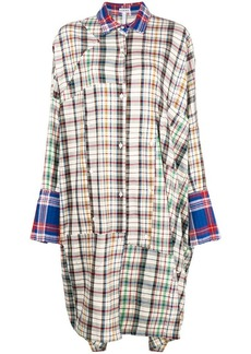 Loewe oversized plaid dress