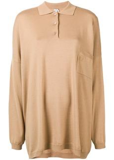 Loewe oversized polo sweater