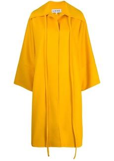 Loewe oversized ribbon coat