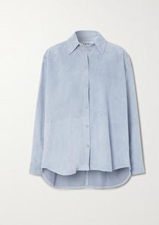 Loewe Oversized Suede Shirt