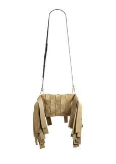 Loewe Paneled Fringe Suede Bag