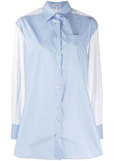 Loewe panelled tailored shirt