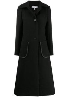 Loewe patch pocket coat
