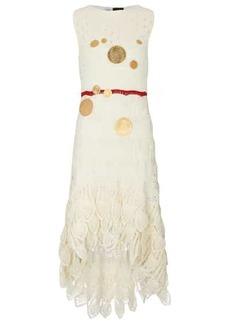 Loewe Paula's Ibiza embellished cotton dress