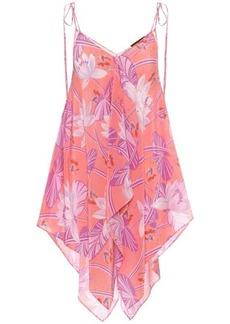 Loewe Paula's Ibiza printed silk top