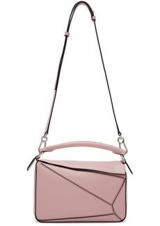 Loewe Pink Small Puzzle Bag
