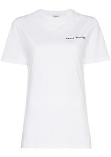 Loewe Printed logo back crew neck t-shirt