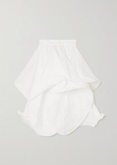 Loewe Ruffled Voile Midi Skirt