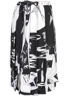 Loewe Salome print skirt