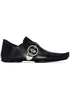 Loewe side-buckle detail loafers