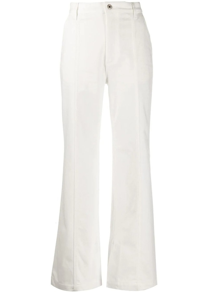 Loewe side slit jeans