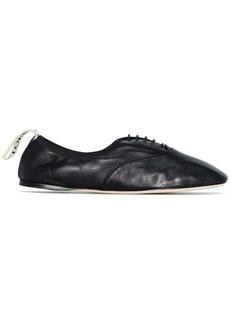 Loewe soft Derby ballerina shoes