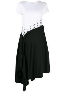 Loewe stitch detail midi dress
