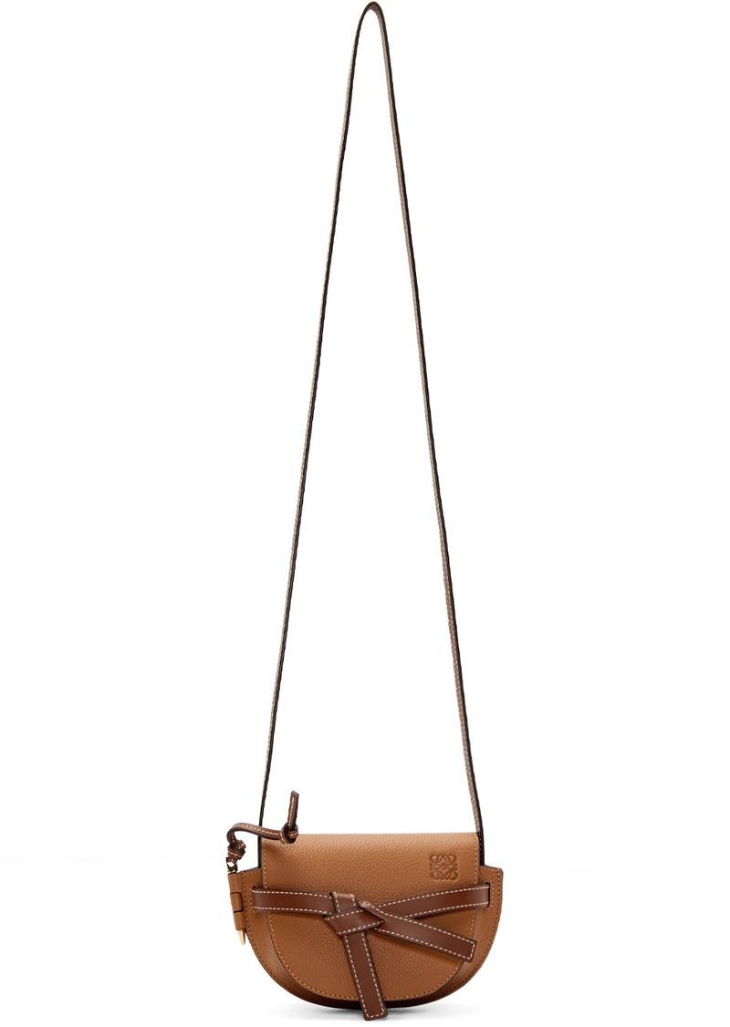 Loewe Tan Mini Gate Bag