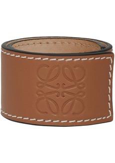 Loewe Tan Slap Bracelet