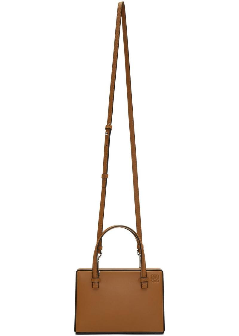 Loewe Tan Small Postal Bag