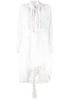 Loewe tassel embellished shirt dress