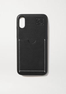 Loewe Textured-leather Iphone X Case