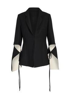 Loewe Tie Cut Jacket with sleeves