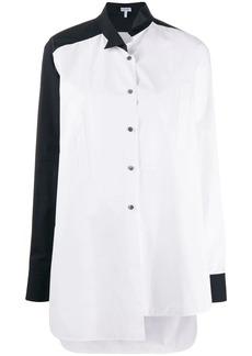 Loewe two tone asymmetric shirt