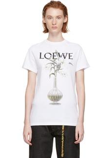 Loewe White Flower & Vase T-Shirt