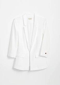 LOFT 3/4 Sleeve Open Blazer
