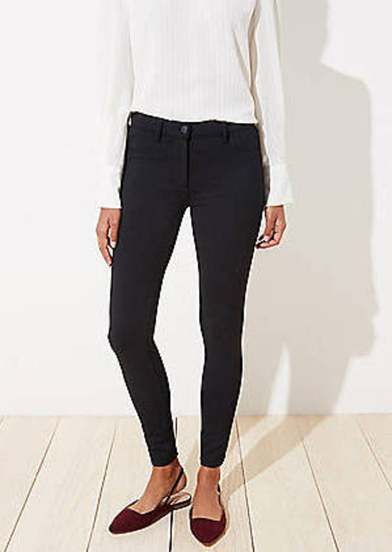 LOFT 5 Pocket Ponte Leggings