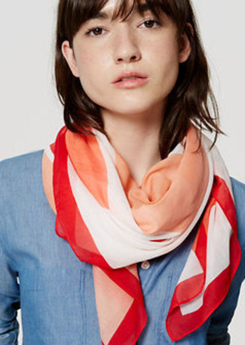 LOFT Abstract Scarf
