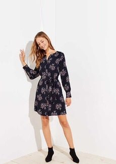 LOFT Anemone Shirtdress